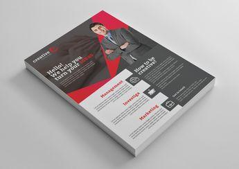 Orlando Creative Professional Flyer Template - Graphic Templates