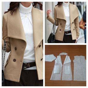 Outerwear korea pattern 😍  Order by line : @modelliste (with @) #modellistepattern#poladress#jualpola#jasapola#polaonline#jasapolaonline#polaonlineshop#polabaju#jualpoladress#jasapembuatanpola#polaouterwear#outerwear#blazerpattern#polablazer#blazer