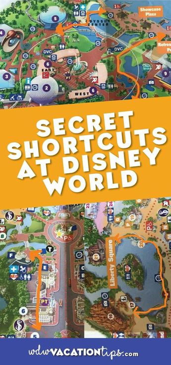 The Secret Shortcuts of Disney World