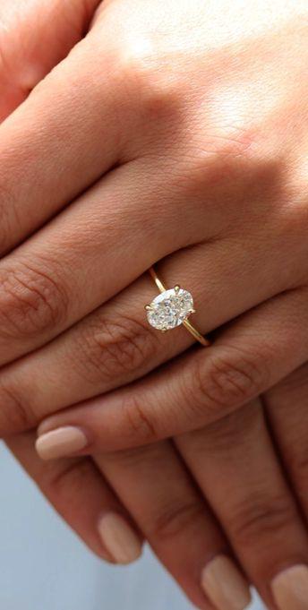Rose Gold Solitaire Engagement Rings Pinterest lest Jewellery Box Banane Ka Tarika since Oval Solitaire Engagement Ring Nz