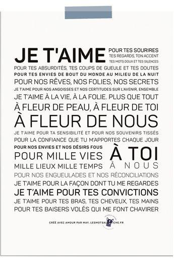 Words in the Poster - Verkauf von inspirierenden und inspirierenden Postern