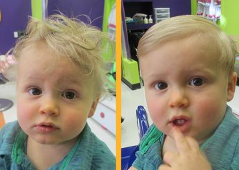 Baby Haircuts and Toddler Haircuts | shearmadnesskids.com