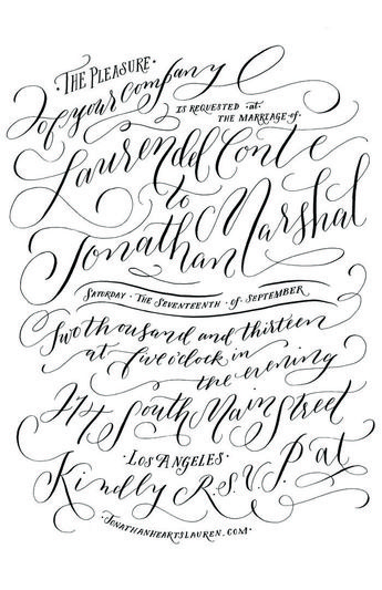 Molly Jacques Lettering - would we want to try something a little more ornamental...maybe maybenot.