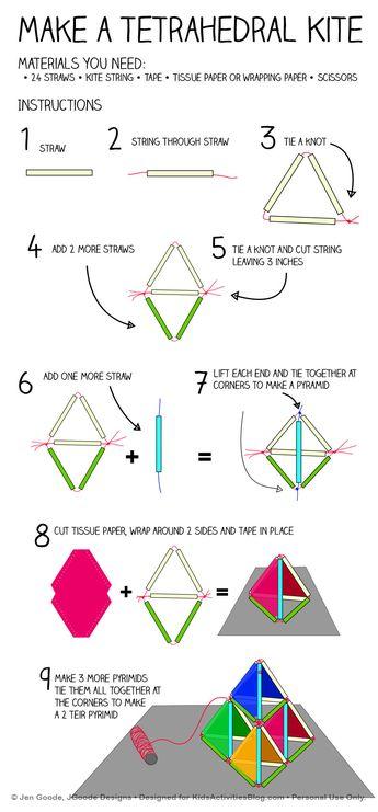 Make a Pyramid Kite