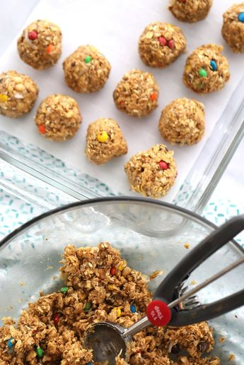 These simple no bake Coconut Peanut Butter Energy Balls make the perfect afternoon snack, breakfast on the go, or even dessert! They're packed with healthy fat and protein and can easily be customized.