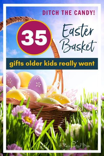 Best Non-Candy Easter Basket Ideas For Tweens & Teens