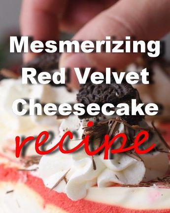 Holy Crepe! It's the most mesmerizing red velvet cheesecake! 🍫🍰🚩 #food #desert #recipe #videos #crepe #redvelvet #cheesecake #cake #styleestate #oreo #cookies