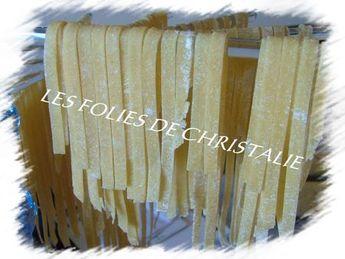 Pâtes fraîches au Kitchenaid - Les folies de Christalie : ou quand la cuisine devient passion