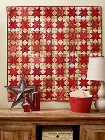 Regimental Stars Quilting Pattern from the Editors of American Patchwork & Quilting