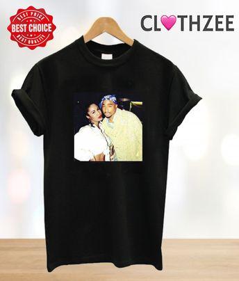 8294b48c Tupac and selena quintanilla T shirt