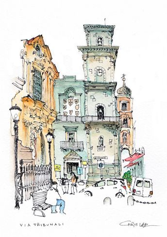 Via Tribunali, Naples