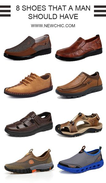 Find more mens shoes at newchic#shoes #simple #outdoor #work #cheap