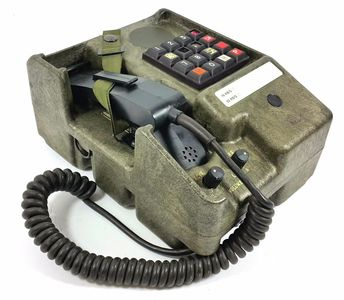 MILITARY DIGITAL PHONE TA-954/TT ELMER ITALIAN VERSION TELEPHONE VINTAGE RADIO | eBay