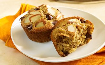 Double Almond Breakfast Muffins