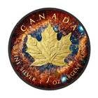 2016 Helix Nebula - Maple Leaf 1oz .9999 Silver Coin with Ruthenium #Coins&PaperMoney