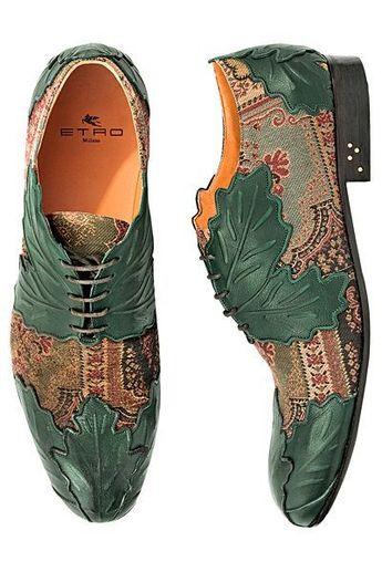 Etro - Men's Accessories - 2013 Fall-Winter - cheap mens black shoes, mens shoes & boots, mens white shoes - Helen Aru