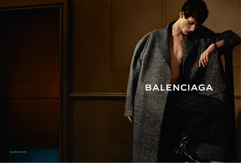 FALL/WINTER 2013 MEN CAMPAIGN Visual #2 Photographer: Josh Olins Model: Sylvester Ulv Henriksen Stylist: Clare Richardson Visit www.balenciaga.com - Mode prêt à porter - Haute couture - Balenciaga