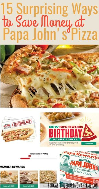 15 Ways to Save Money at Papa John's {Never Pay Full Price for Pizza Again