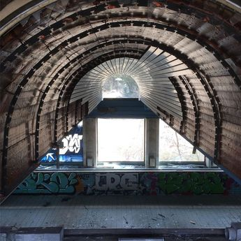 A tunnel back to the past #tunnel #pool #nofilter #old  A tunnel back to the past #tunnel #pool #nofilter #old