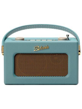 ROBERTS Revival Uno DAB/DAB+/FM Digital Radio with Alarm, Duck Egg