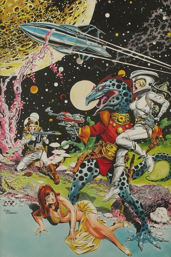 Some vintage sci-fi art by Al Williamson.