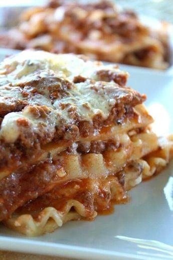 The Best Lasagna Recipes