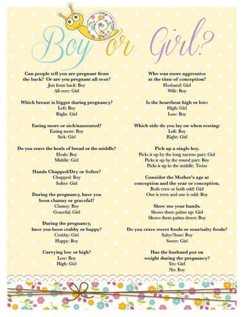 Items similar to Gender Reveal Game: Boy or Girl? on Etsy