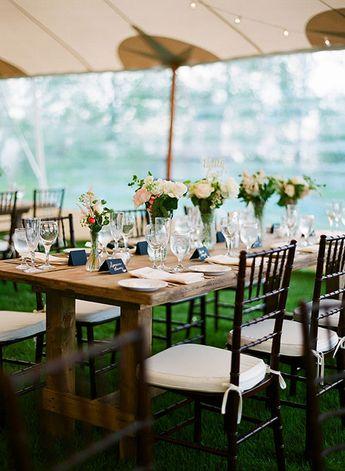 Wisconsin Real Wedding Photos: A Relaxed, Elegant Wedding on Lake Michigan