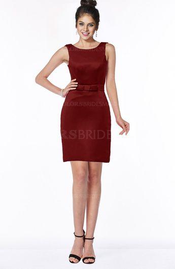 ColsBM Stella - Dark Red Bridesmaid Dresses a3e9b96c1