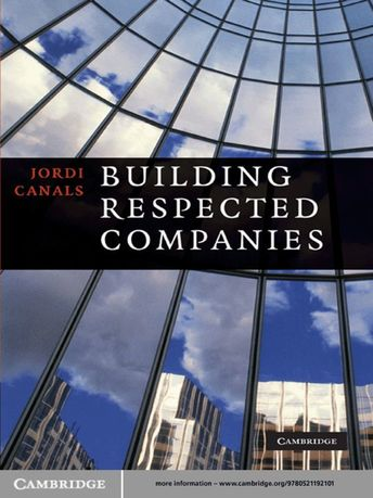 Building Respected Companies (eBook)
