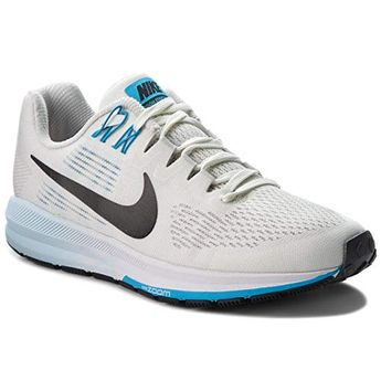 a05ba6d16c30 NIKE Womens Air Zoom Structure 21 8.5 M US Vast Grey BlacksailEquator Blue    Want