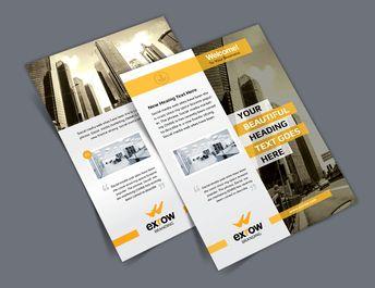 Flora Elegant Professional Business Flyer Template - Graphic Templates