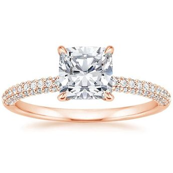 14K Rose Gold Valencia Diamond Ring (1/3 ct. tw.)