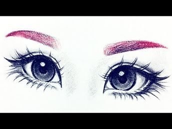 How I Draw Eyes From Reference ♡ |Christina Lorre' - YouTube