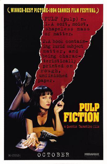 Pulp Fiction - Mini Print B