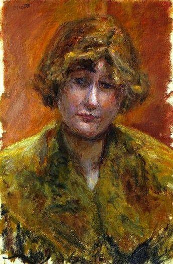 Pierre Bonnard (1867-1947) Portrait de jeune fille, vers 1921