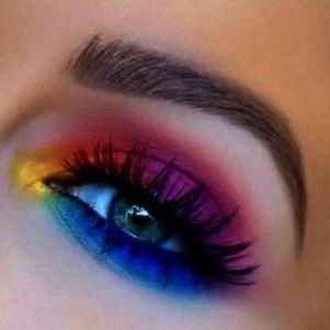 Makeup Revolution Powder past Makeup Brushes Eye Set few Makeup Forever Professional Paris; Colorful Eye Makeup Step By Step