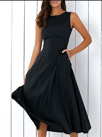 Buy Summer Dresses For Women at JustFashionNow. Online Shopping JustFashionNow Plus Size Crew Neck Women Summer Dress A-line Party Dress Sleeveless Elegant Cotton Solid Dress, The Best Party Summer Dresses. Discover unique designers fashion at JustFashion