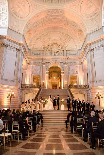 Classic San Francisco City Hall Wedding