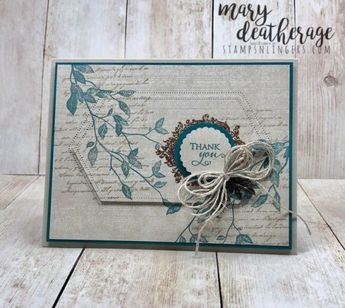 Stampin' Up! Very Versailles for the Happy Inkin' Thursday Blog Hop | Stamps – n - Lingers