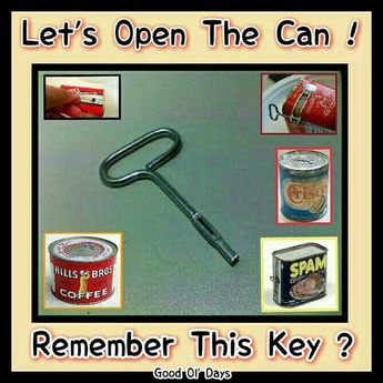 The tin strip you inserted into the key slot always seemed to tear off and then what can you do?