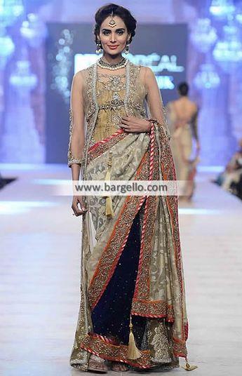 611d866917 Nickie and Nina Bridal Saree Collection Pakistani Bridal Saree Wedding Saree