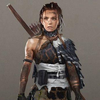 ArtStation...Shadow of the Tomb Raider concept art?