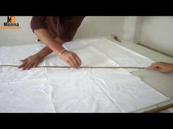 c10febb0c FULL PATIALA SALWAR CUTTING AND STITCHING IN HINDI / PATIYALA SALWAR -  YouTube