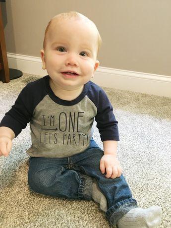Birthday Shirt For Boys First Boy