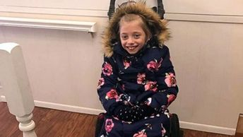 'I saved recess': Girl in wheelchair can stay warm outside thanks to mom's invention