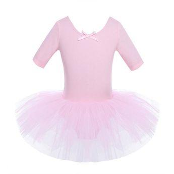 40ef60e8c068 Kids Girls Long Sleeve Ballet Gymnastics Bodysuit Dance