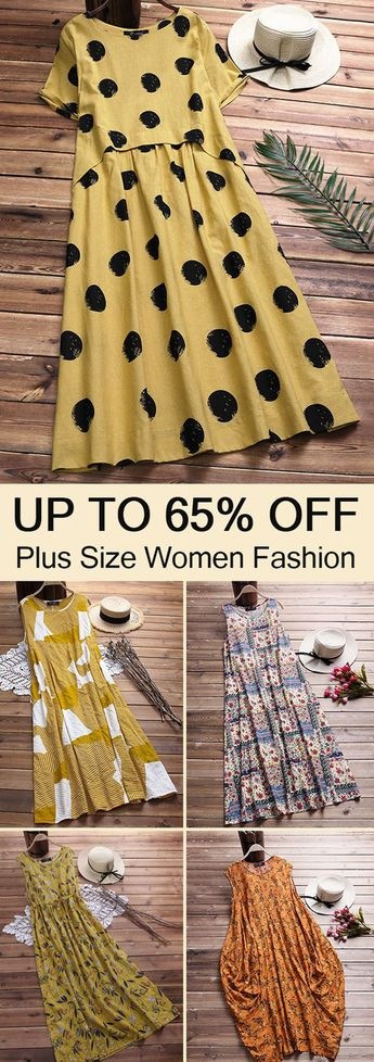 Plus size casual dress for women. Shop now!