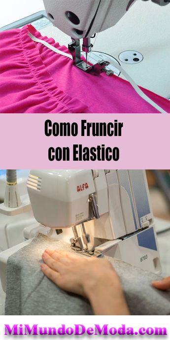 Curso como Fruncir con hilo elasstico aprende trucosde costura !  #costuras #cursosgratis #moldes #patrones #sewing