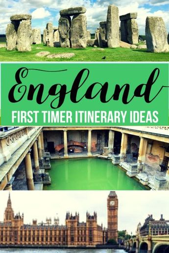 First time to England? Check this detailed post with itinerary ideas for spending 8-10 day in the country! See London, Stonehenge, Bath, and Windsor Castle!